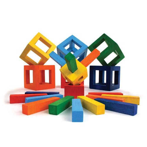 Fat Brain Toys Twig Building Block Set