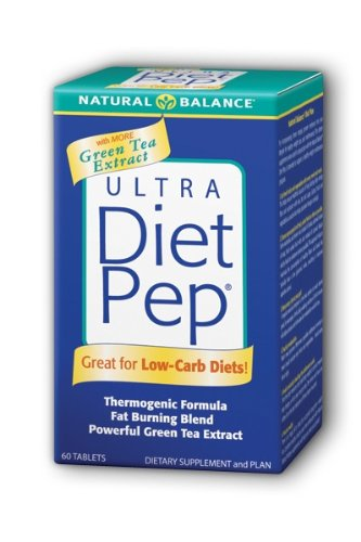 Natural Balance Ultra Diet Pep with Green Tea Extract, 60-Count