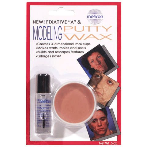 .5 oz Wax Modeling Putty Halloween Makeup