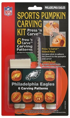 Philadelphia Eagles Pumpkin Carving Kit